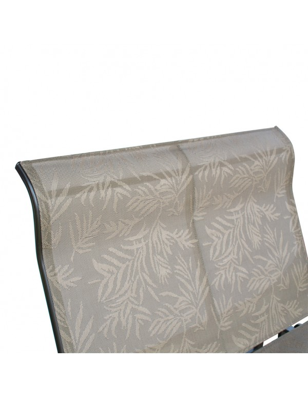 Outdoor Patio Porch 2 Person Glider Bench Loveseat Chair Swing with Rocker, Grey